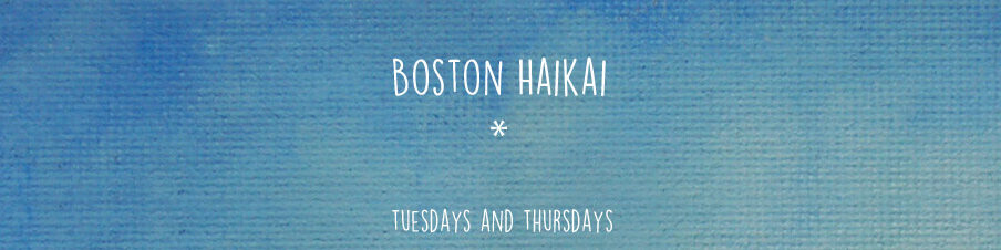 Boston Haikai has new poems on Tuesdays and Thursdays